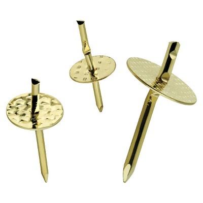 Liberty 50pc Push Pin Hooks and Hanger Assortment
