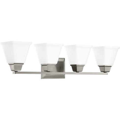 "Progress Lighting P300161 Clifton Heights 4 Light 31-7/8"" Wide Bathroom Vanity Light - image 1 of 1"