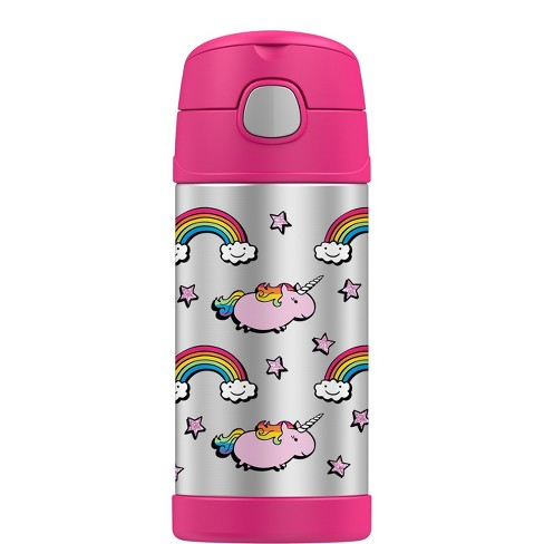 Thermos 12oz FUNtainer Water Bottle - Unicorns - image 1 of 3