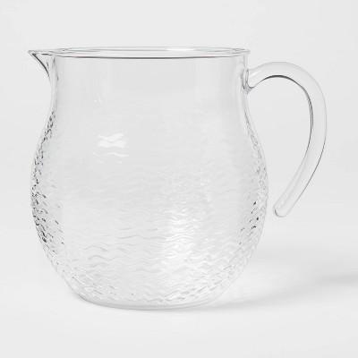 95oz Plastic Wave Texture Beverage Pitcher - Opalhouse™