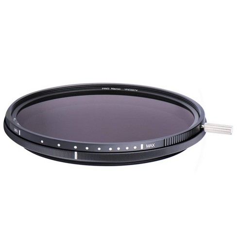 NiSi 55mm ND-VARIO Pro Nano 5-9 Stops 1.5-2.7 Enhanced Variable ND Filter - image 1 of 4