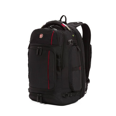 """SWISSGEAR 18"""" Backpack - Black/Red - image 1 of 4"""