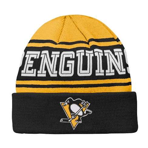 d0269dbb118 NHL Youth Pittsburgh Penguins Cuffed Knit Hat   Target