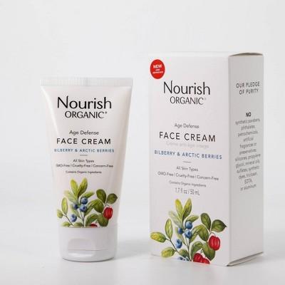 Nourish Organic Age Defense Cream - 1.7 fl oz