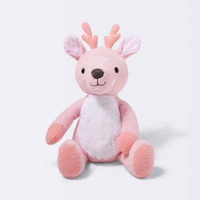 Plush Deer Stuffed Animal - Cloud Island™ Pink