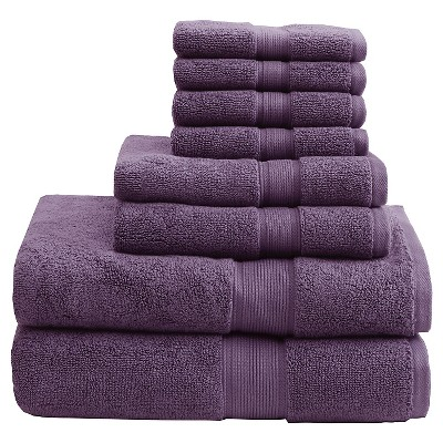 Bath Towel Set - Purple