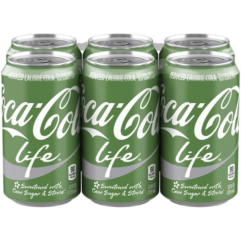 Coca-Cola Life - 6pk/12 fl oz Cans - image 1 of 3