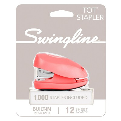 Swingline Tot Mini Stapler (Color Will Vary)