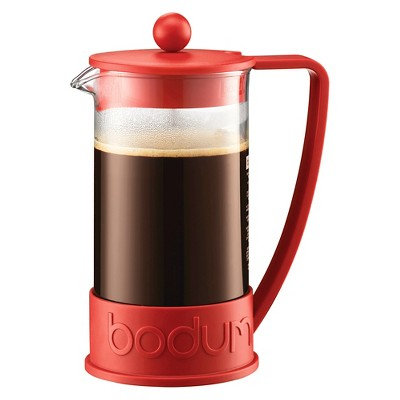 Bodum 8 Cup French Press Coffee Maker - Red