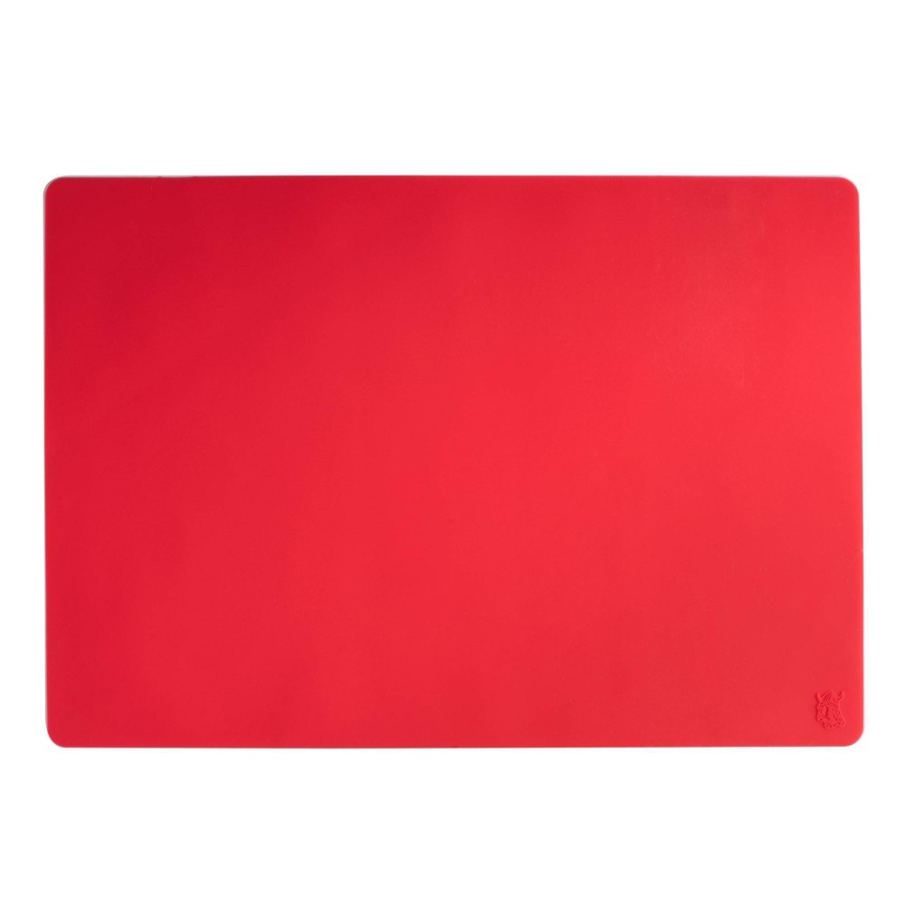 Image of Nordic Ware Silicone Baking Mat, Red