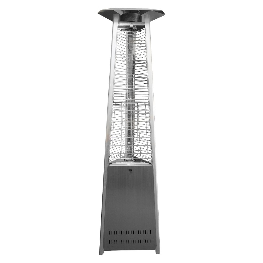 Image of Commercial Stainless Steel Glass Tube Patio Heater