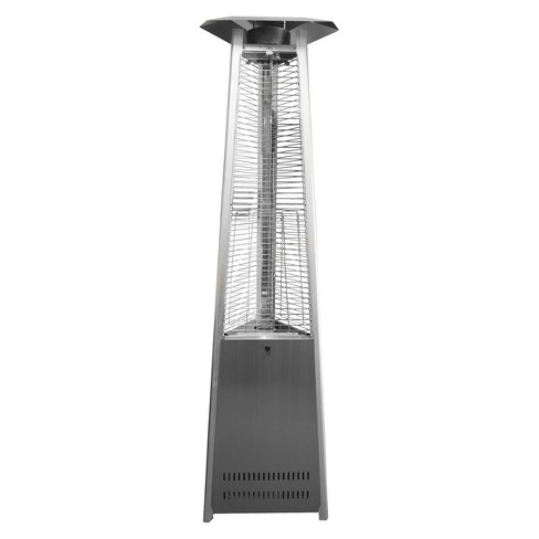 Commercial Stainless Steel Glass Tube Patio Heater - image 1 of 3