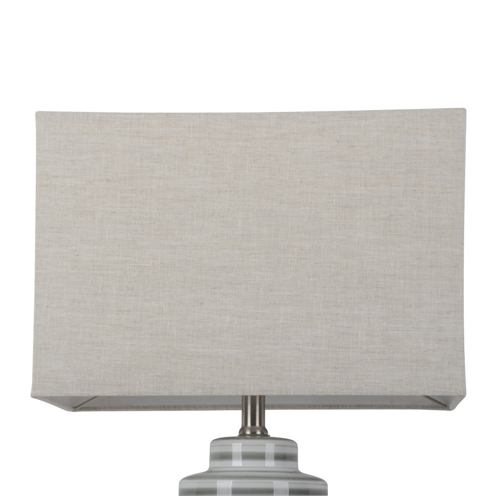 Image of Large Rectangle Natural Lampshade Linen - Project 62