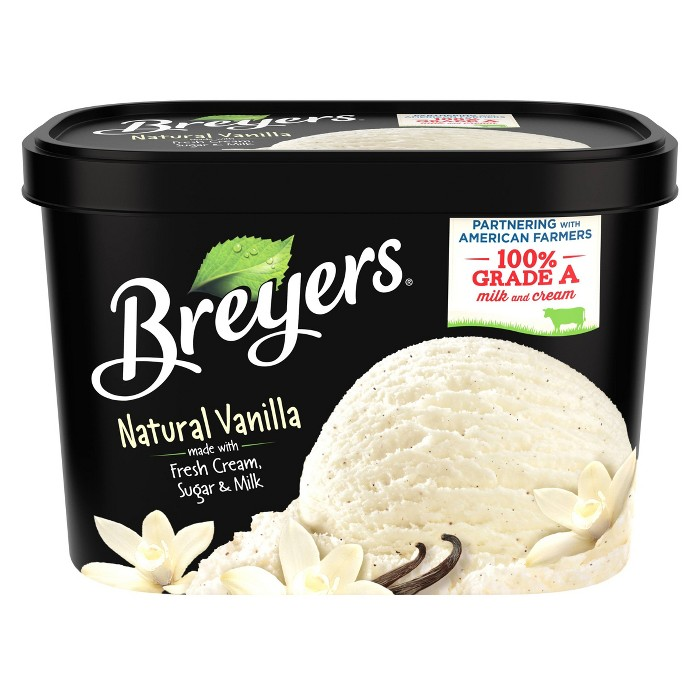 Breyers Original Ice Cream Natural Vanilla - 48oz - image 1 of 5