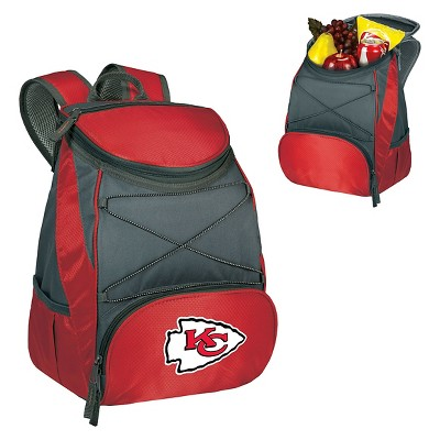 Kansas City Chiefs PTX Backpack Cooler by Picnic Time - Red