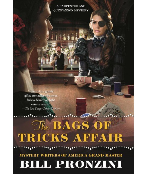 Bags of Tricks Affair -  (Carpenter and Quincannon Mysteries) by Bill Pronzini (Hardcover) - image 1 of 1