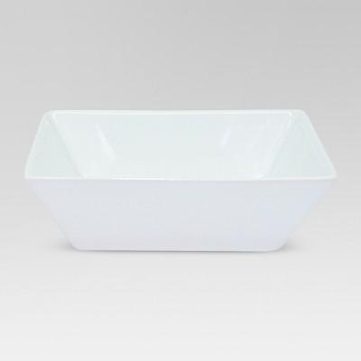 Square Porcelain Bowl 24oz White - Threshold™