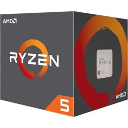 AMD Ryzen 5 1400 Processor  -  4 cores & 8 threads - Includes Wraith Stealth Cooler - 8MB L3 cache - 3.4 GHz max boost - Unlocked for overclocking