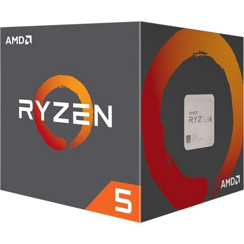 AMD Ryzen 5 1400 Processor  -  4 cores & 8 threads - Includes Wraith Stealth Cooler - 8MB L3 cache - 3.4 GHz max boost - Unlocked for overclocking - image 1 of 1