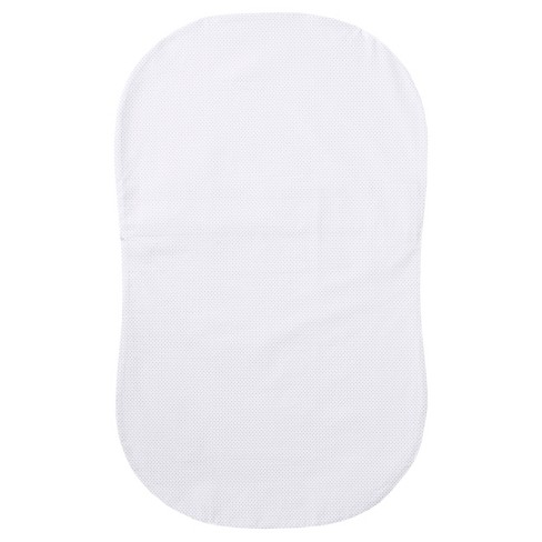 HALO Bassinest Fitted Sheet - Gray Pin Dot - image 1 of 3