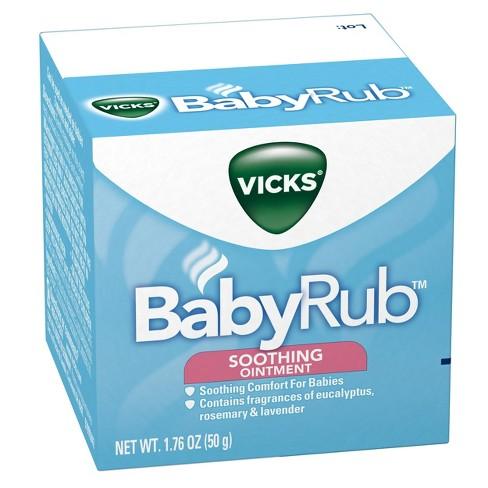 Vicks BabyRub Chest Rub Soothing Ointment - 1 76oz