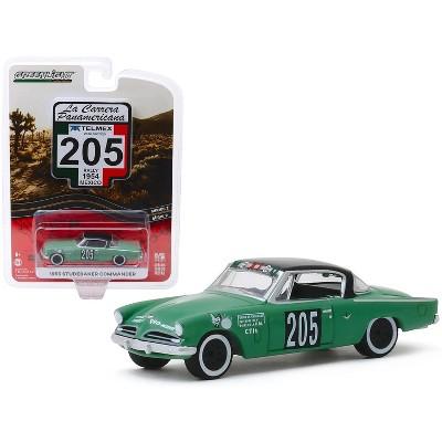 "1953 Studebaker Commander #205 ""Mexico"" (Rally Mexico 1954) ""La Carrera Panamericana"" 1/64 Diecast Model Car Greenlight"