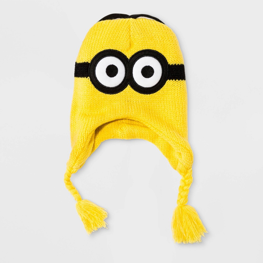 Image of Boys' Minions Beanie - Yellow One Size, Boy's