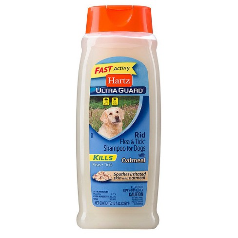 Hartz UltraGuard Rid Flea and Tick Shampoo for Dogs with Oatmeal - Rich Vanilla Fragrance - 18oz - image 1 of 1