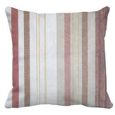 Woven Stripe Oversized Square Pillow - Threshold™