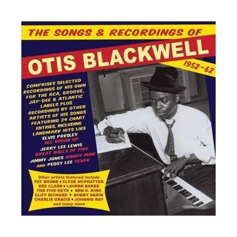 Otis Blackwell - Songs & Recordings of Otis Blackwell: 1952-1962 (CD) - image 1 of 1