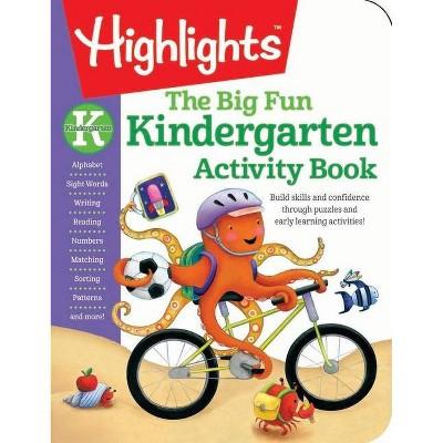 Big Fun Kindergarten Activity Book (Workbook) (Paperback)