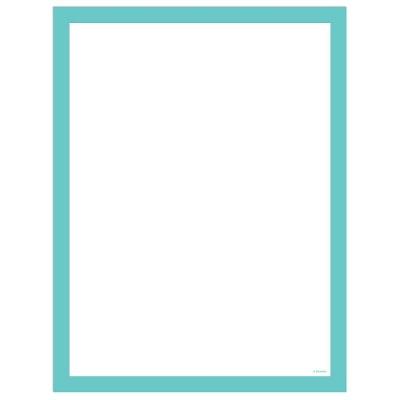 "U Brands 35""x46"" Peel & Stick Dry Erase Blank Planner with Marker"