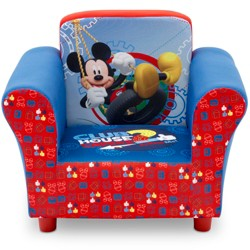 Stupendous Upholstered Chair With Ottoman Disney Minnie Mouse Delta Alphanode Cool Chair Designs And Ideas Alphanodeonline