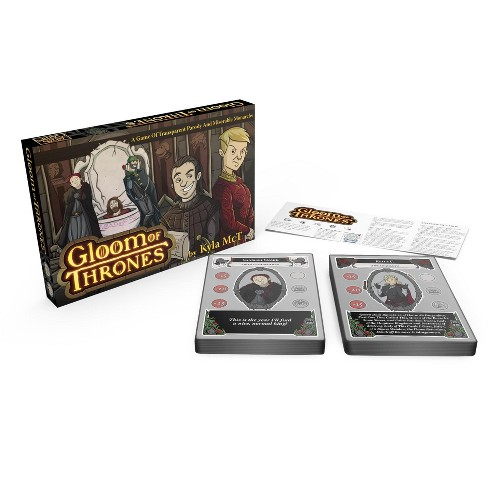 Gloom of Thrones w/Stretch Goal Characters and Noble Knight Promo cards Board Game - image 1 of 3