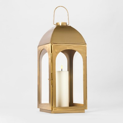 Brass Lantern Large - Threshold™