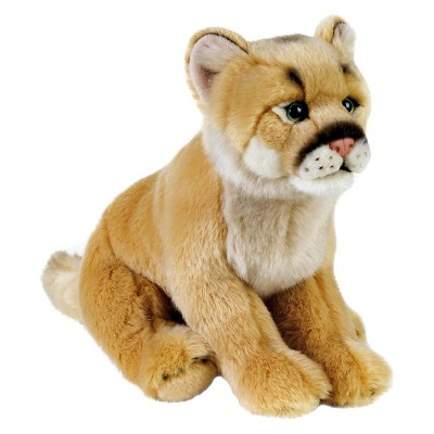 Lelly National Geographic Mountain Lion Cub Plush Toy