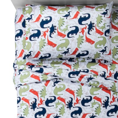 Toddler Dinosaurs 100% Cotton Sheet Set - Pillowfort™