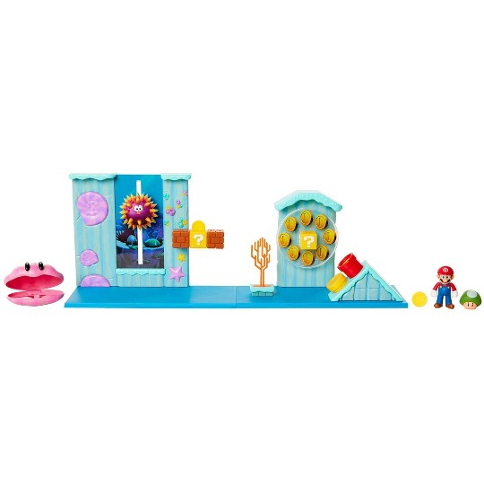 Nintendo Super Mario Deluxe Underwater Playset image number null