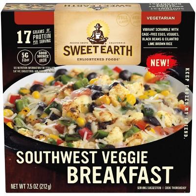 Sweet Earth Frozen Southwest Veggie Breakfast Bowl - 7.5oz