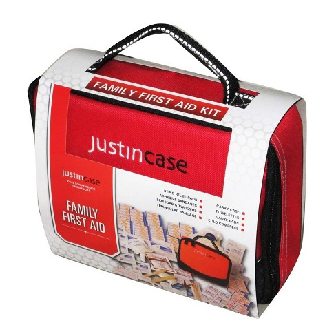 Family First Aid Kit Red - Justin Case - image 1 of 1