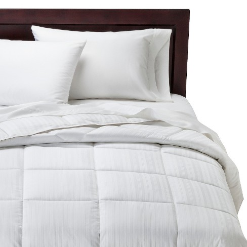 Warm Down Alternative Comforter - White - Fieldcrest™ - image 1 of 2