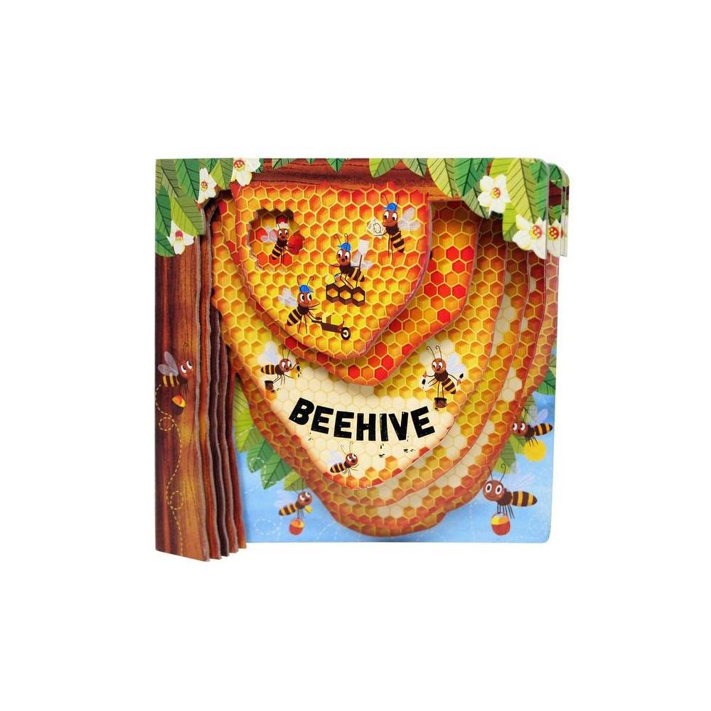 Beehive Peek Inside By Petra Bartikova Board Book