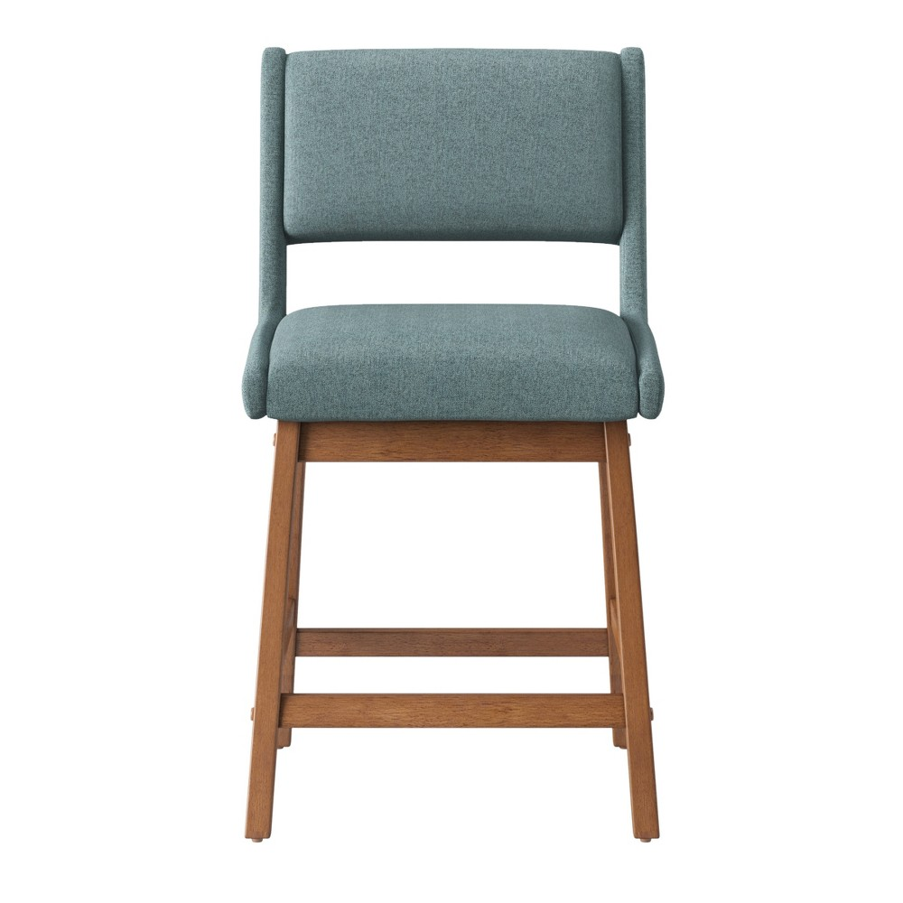 24 Mid Century Counter Stool Dark Teal - Project 62