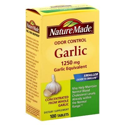 Vitamins & Supplements: Nature Made Garlic