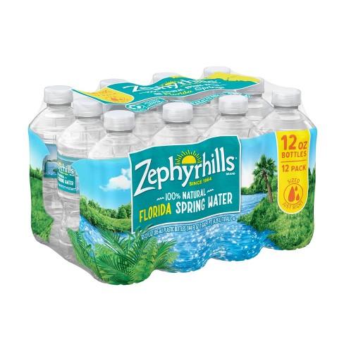 Zephyrhills Brand 100% Natural Spring Water - 12pk/12 fl oz Bottles - image 1 of 4