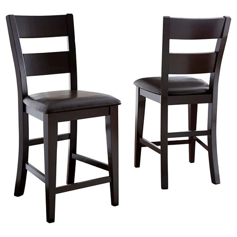 Tory Counter Chair Brown (Set of 2) - Steve Silver - image 1 of 2