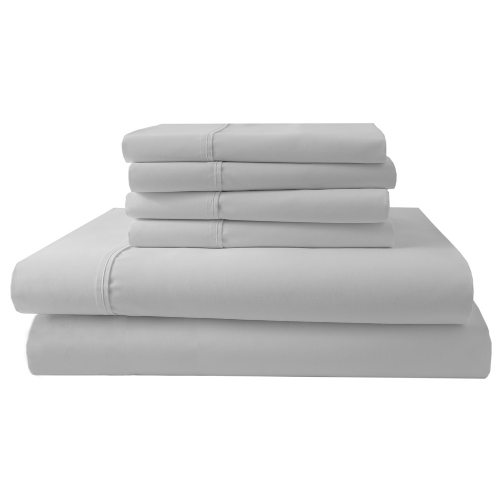 Park Ridge 1000 Thread Count Sheet Set (Queen) White - Elite Home Products