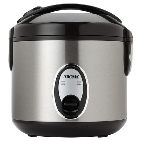 bd62112cb Aroma 8 Cup Rice Cooker - Stainless Steel ARC-904SB   Target