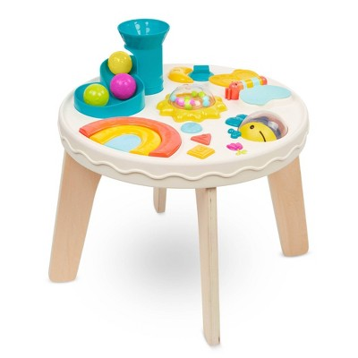 B. play - Baby Activity Table - Colorful & Sensory Station
