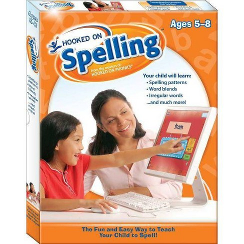 Hooked on Spelling - by  Hooked on Phonics (Hardcover) - image 1 of 1